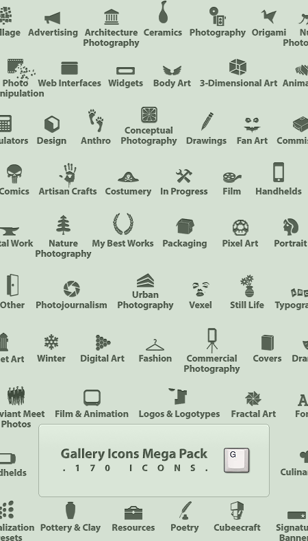 Gallery Icons Mega Pack by alperyesiltas