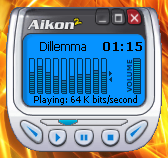 Aikon2 Mini Player by wardee