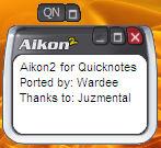 Aikon2 QuickNotes Pad