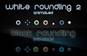 Roundling Cursors - Both B+W by chrislachance