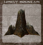 3D Lonely Mountain