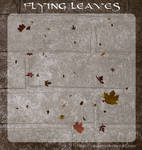 3D Flying Leaves