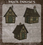 3D Brick Houses