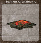 3D Burning Embers