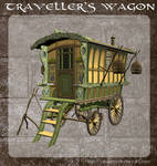 3D Travellers Wagon