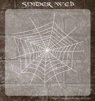 3D Spider Web by zememz
