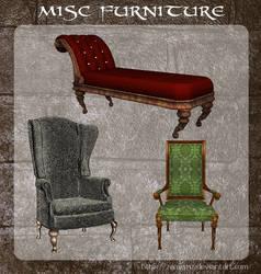 3D Misc Furniture