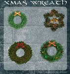 3D Xmas Wreath