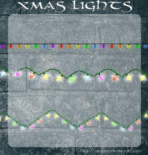 3D Xmas Lights