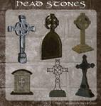 3D Head Stones