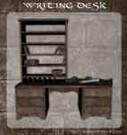 3D Writing Desk