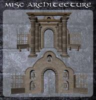3D Misc Architecture 7 by zememz