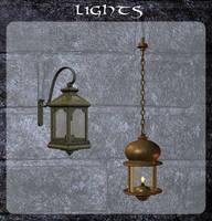 3D Lights by zememz