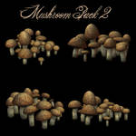 Mushrooms Pack 2