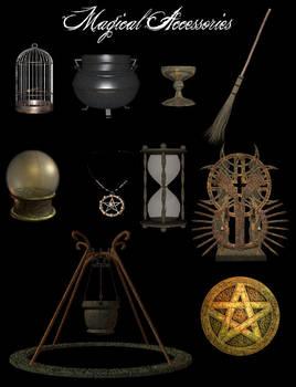 3D Magical Accessories