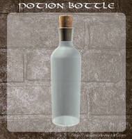 3D Potion Bottle 1 by zememz