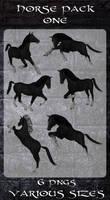 3D Horses Pack 1