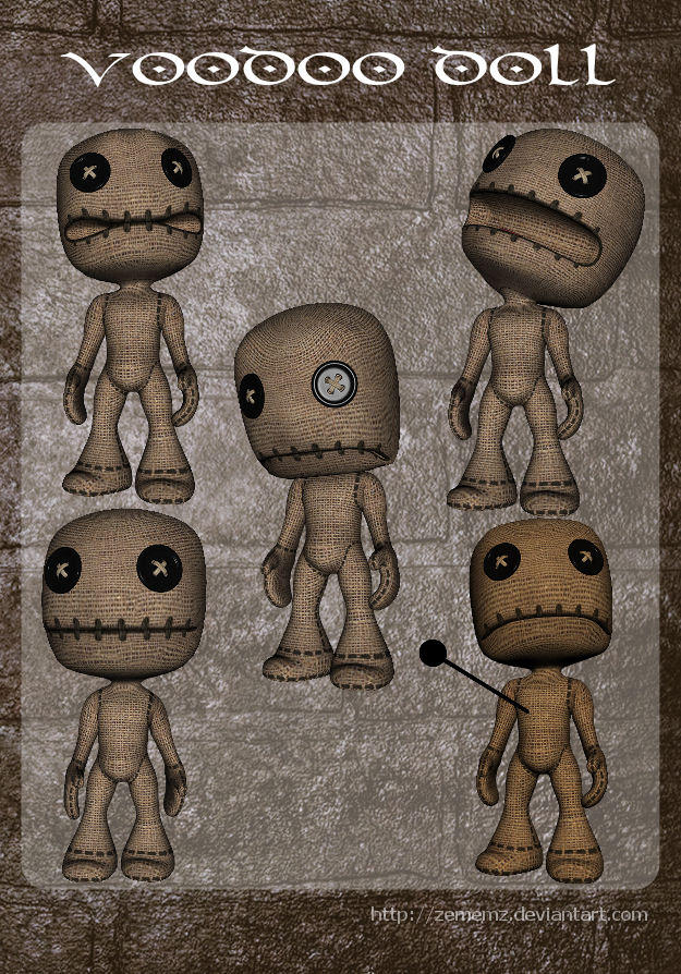 3D Voodoode by zememz