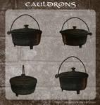 3D Cauldrons