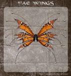 3D Fae Wings 3