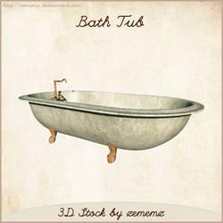 3D Bath Tub