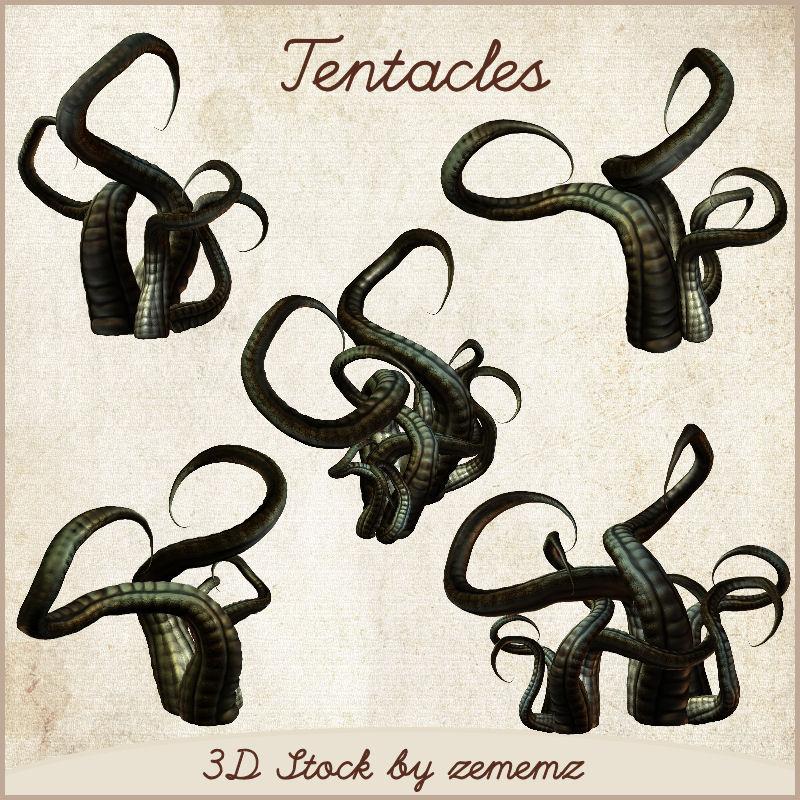 3D Tentacles 2