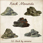 3D Rock Mounds