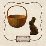 3D Easter Basket and Bunny