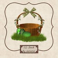 3D Spring Basket by zememz