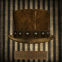 Steampunk Topper by zememz