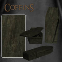 Coffins by zememz