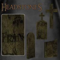 Headstones 1 by zememz