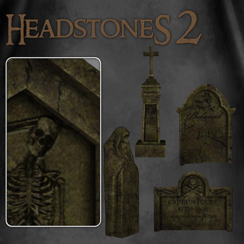 Headstones 2 by zememz