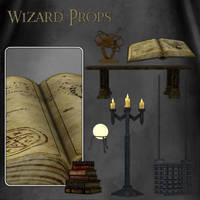 Wizard Props by zememz
