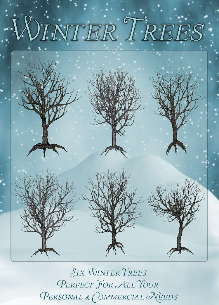Winter Trees by zememz
