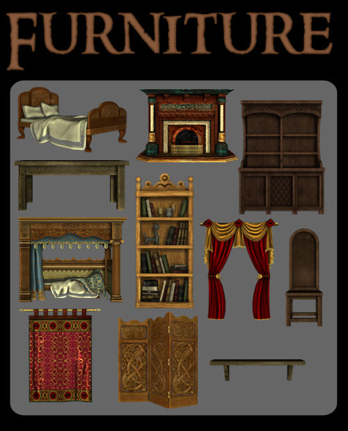 Furniture Pack by zememz