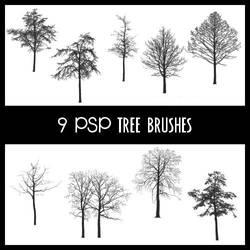Tree Brushes PSP