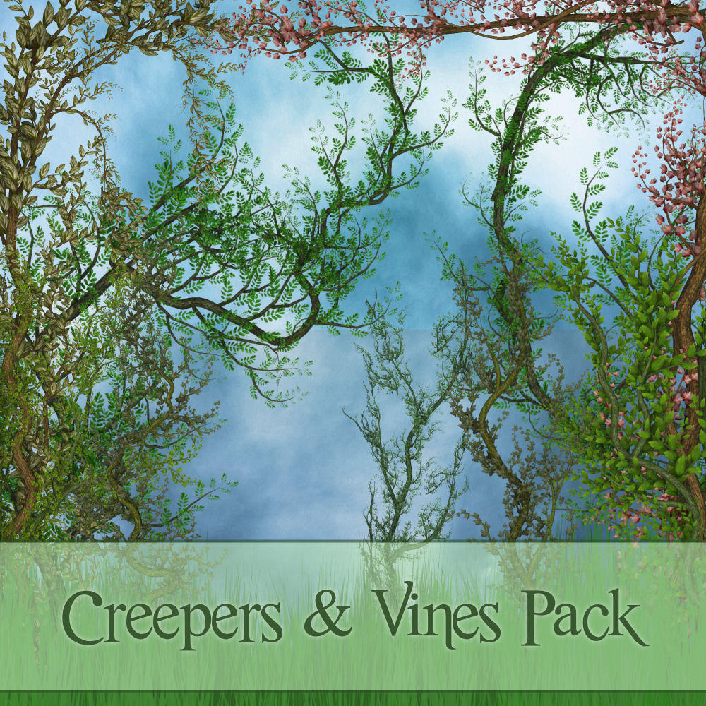 Creepers 'n' Vines Pack by zememz