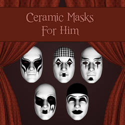 Ceramic Masks For Him