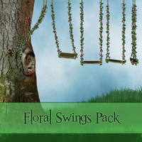 Floral Swings Pack by zememz