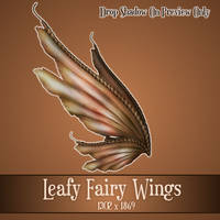 Leafy Wings 3 by zememz