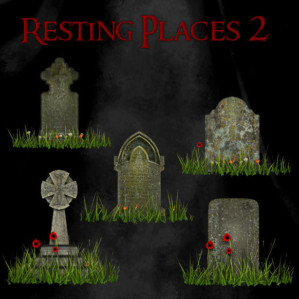 Resting Places 2 by zememz