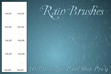 Rain Brushes PSP by zememz