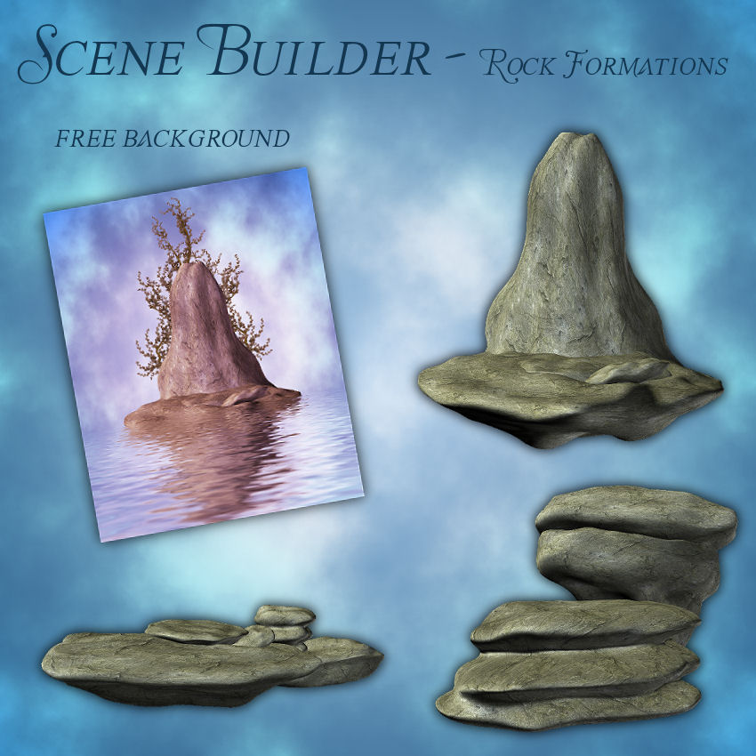 Scene Builder - Rock Formations