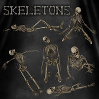 Skeletons by zememz