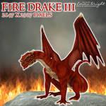 Fire Drake 3 by zememz