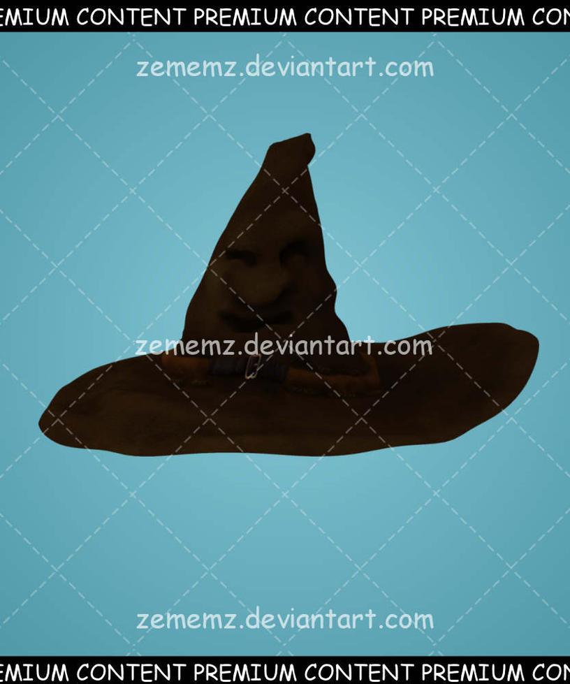 Magic Hat 001 - Premium Content by zememz