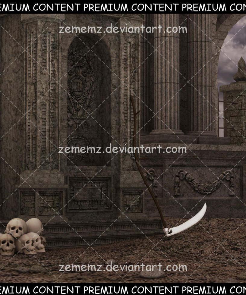 Background 041 - Premium Content by zememz