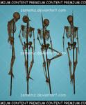 Skeletons 001 - Premium Content
