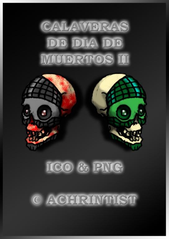 Calaveras de Dia de Muertos II by achrintist
